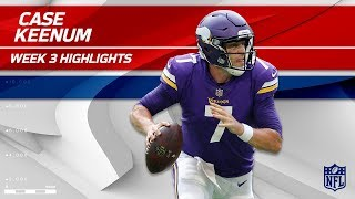 Case Keenum Highlights vs. Tampa Bay | Buccaneers vs. Vikings | Wk 3 Player Highlights
