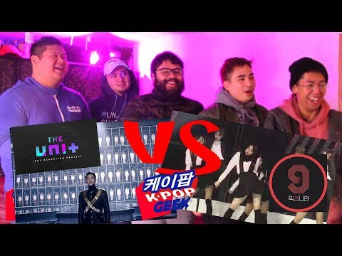 KBS THE UNIT ( 더 유닛) VS YG MIXNINE ( 믹스나인) MV REACTION #FANBOYS