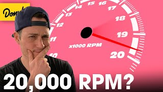 Why It's Almost Impossible For An Engine To Rev Over 20,000 RPM