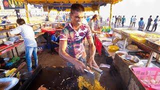 Street Food in Sri Lanka - ULTIMATE FOOD TOUR - Egg Hoppers + Kottu Roti in Colombo, Sri Lanka!