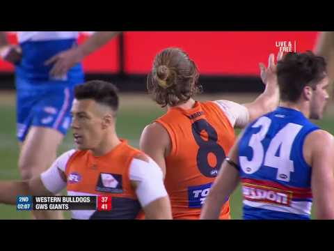 Western Bulldogs vs Greater Western Sydney