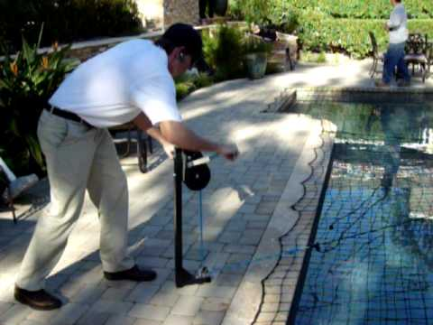 All-Safe Pool Net Titan Tool Demonstration