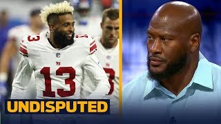 James Harrison on Odell Beckham Jr.'s contract extension with the New York Giants | NFL | UNDISPUTED