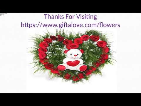 New Flowers Collection via Giftalove for Kolkata