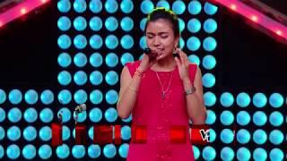 "Salina Ramudamu - ""Aakha Haru Sita Maile"" - Blind Audition - The Voice of Nepal 2018"