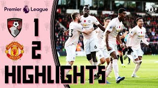 Highlights | Bournemouth 1-2 Manchester United | Rashford wins it in stoppage time!