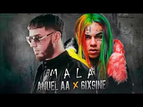 6ix9ine x Anuel AA - Mala (Audio Oficial)