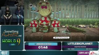 LittleBigPlanet by RbdJellyfish in 1:00:50 - SGDQ2016 - Part 77 [1080p]