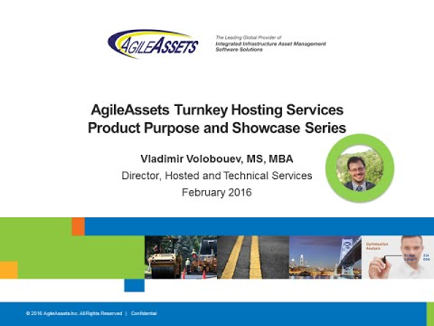 AgileAssets Turnkey Hosting & Technical Services - Product Showcase Series