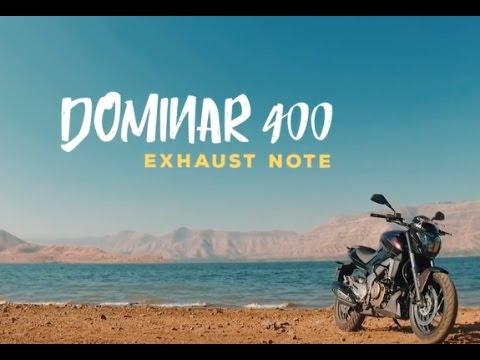 Bajaj Dominar 400 : Exhaust Note : PowerDrift