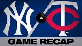 Hicks' catch ends wild 14-12 victory in 10th | Yankees-Twins Game Highlights 7/23/19