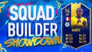 FIFA 19 SQUAD BUILDER SHOWDOWN!!! TEAM OF THE YEAR KANTE VS ITANI!!! The Ultimate Fifa Series Finale