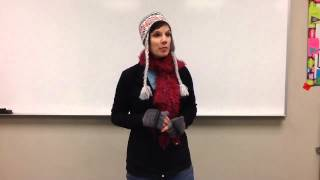 Katie Christianson - Descriptive Speech
