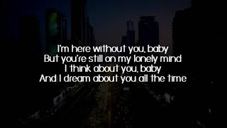Here Without You - 3 Doors Down (Lyrics) - Cover