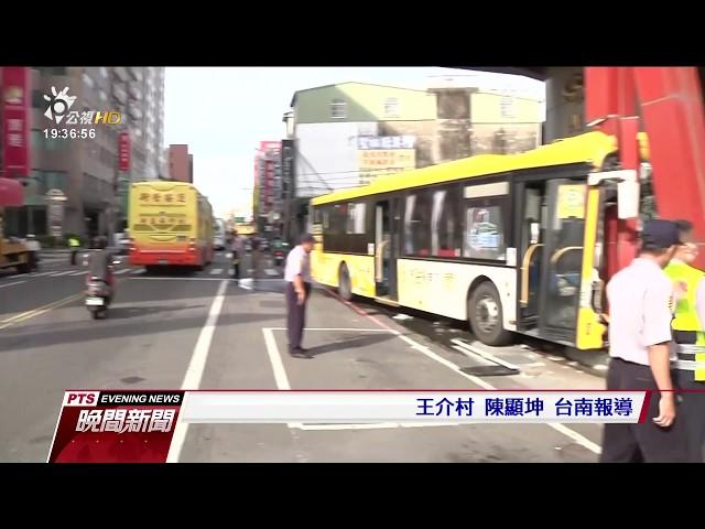 司機疑心律不整 公車直衝騎樓6乘客輕傷