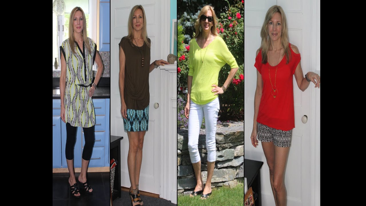 Summer Style Ideas For Women Over 50 Lookbook 2013 Youtube