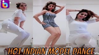 Hot Indian Model Sexy Dance on Bollywood Songs   Bindass vines