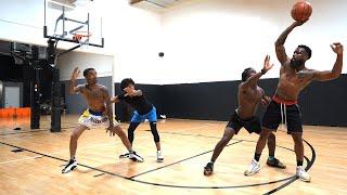 Most EXHAUSTING 2v2 Basketball Game EVER! Cash & Flight vs Deestroying & King Cid!