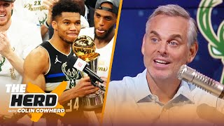 Giannis is now the face of the league —Colin on Bucks bringing Milwaukee the title | NBA | THE HERD