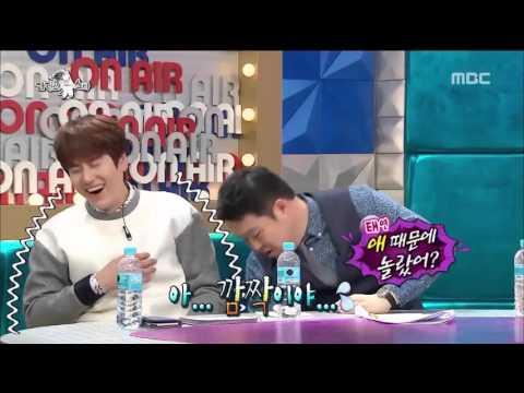 [Radio Star] Kyuhyun (Super Junior)  Asustado Por Muñeca.