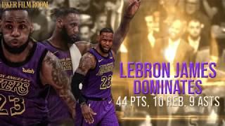 LeBron James Passes Wilt on NBA's All-Time Scoring List (44 Pts, 10 Rebs, 9 Assts)