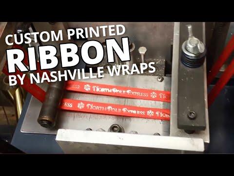 Custom Printed Ribbon by Nashville Wraps