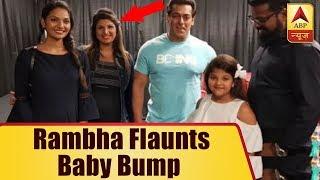 Rambha with Family meets Salman Khan at Toronto..