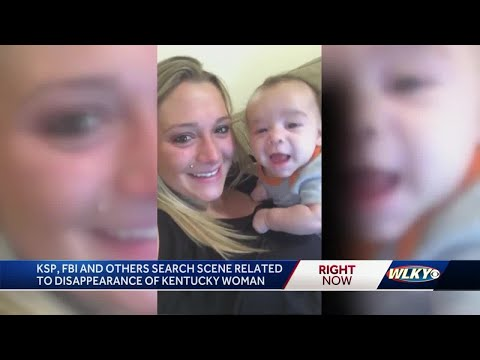 FBI, KSP search near Garrard County home in connection with Savannah Spurlock's disappearance