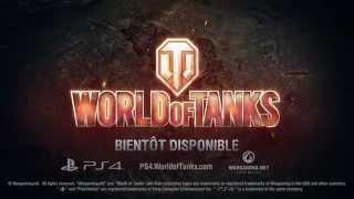 World of tanks disponible sur ps4 :  bande-annonce