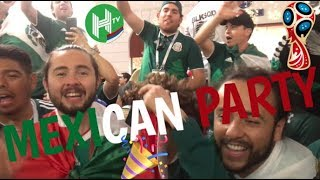 EPIC CRAZY MEXICAN PARTY IN MOSCOW | World Cup Daily Vlog Day 5