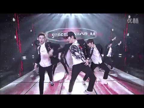 140412 全球中文音乐榜上榜 #SuperJuniorM #Swing 告别舞台完整版