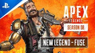 Apex Legends Season 8 - Meet Fuse: Apex Legends Character Trailer | PS4