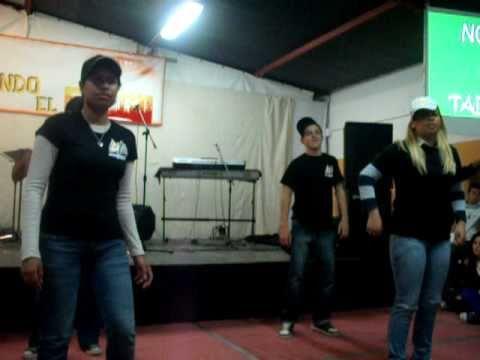 coreografia cristiana Grupo de jovenes