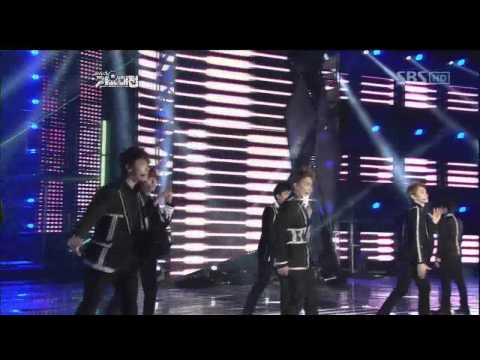 SuperJunior - Superman+Mr. Simple @SBS MUSIC FESTIVAL 가요대전 20111229