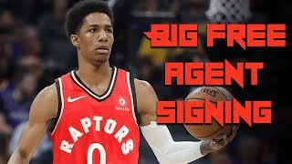Raptors make BIG Free Agent SIGNING - Toronto Brings in 2x CHAMPION Patrick McCaw