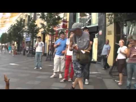 Guerrilla Marketing Example   Resident Evil Arms in Street   YouTube