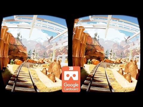 3D Extreme Canyon Roller Coaster | Side by Side SBS | Virtual Reality Active Passive