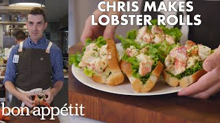 Chris Makes Lobster Rolls From Scratch | From the Test Kitchen | Bon Appétit