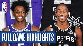 KINGS at SPURS | FULL GAME HIGHLIGHTS | July 31, 2020