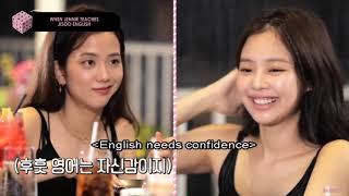 WHEN JENNIE TEACHES JISOO ENGLISH
