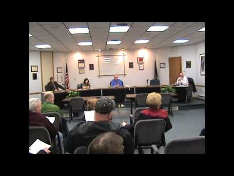 Rouses Point Village Board Meeting  12-14-12