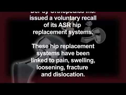 Morris, King & Hodge, P.C. DePuy ASR Hip Replacement Systems