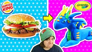 CRAYOLA & Burger King? Testing Mystery Craft Kit