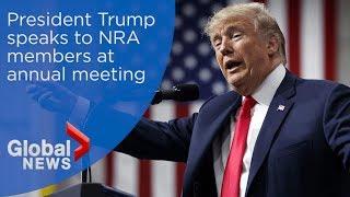 President Trump's FULL speech at NRA annual meeting in Dallas