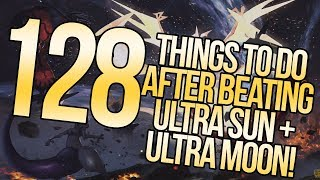 128 Things To Do Post-Story in Pokemon Ultra Sun and Ultra Moon | Austin John Plays