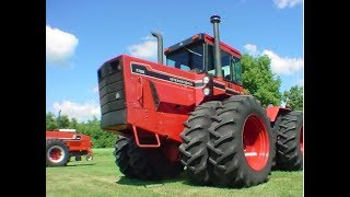 IHC 7788 Tractor (1 of 2 Only Made) with 2517 Original Hours Sold Yesterday on Manitoba Farm Auction