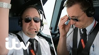 A New Pilot Makes His First Ever Flight With Passengers! | EasyJet: Inside The Cockpit | ITV