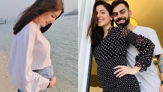 Anushka Sharma shares her baby bump pic, Virat Kohli react..