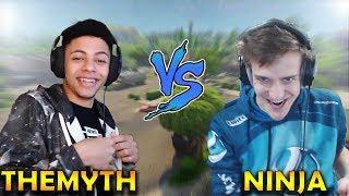 ''Ninja vs TheMyth'' (Fortnite Battle Royale)