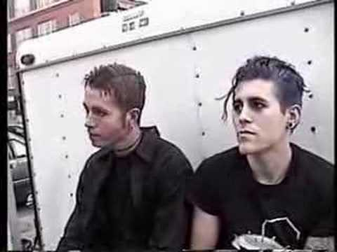 Early AFI (Davey&Jade) Interview RARE- Part 1